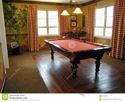 beautiful pool table and game room stock photography image 9548602