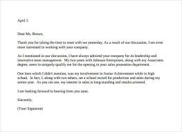 sample thank you letter thank you interview letter no pinterest