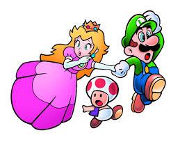 845 toad princess toadstool toad u0026 luigi super mario 2