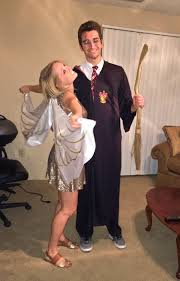 great halloween costume ideas for couples harry potter and the golden snitch cute couples halloween costumes