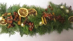 Weihnachtswanddeko Basteln Weihnachtsdeko Girlande Basteln Deko Ideen Mit Flora Shop Youtube