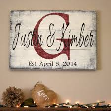 wedding gift name sign best custom wood family name signs products on wanelo