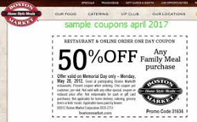 free promo codes and coupons 2017 boston market coupons