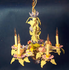 Miniature Chandelier Floral Chandelier 542 125 00 Wren Song Miniatures