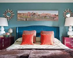 Turquoise And Coral Bedroom Tuesday Hues Colors Of Autumn Leaves Part 1 30 Something
