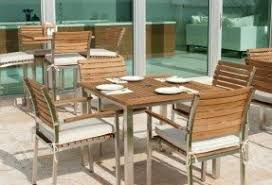 Wood Patio Furniture Sets Stainless Steel Patio Furniture Sets Foter