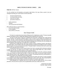 exle of formal letter to government sle for spm directed writing