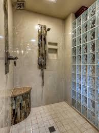 glass block bathroom designs bathroom design the glass block shower enclosure