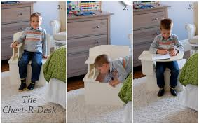 all in one desk and chair chest r desk 3 in 1 kids furniture love stitched