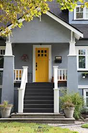 front door colors for gray house what are the best paint colours for a front door