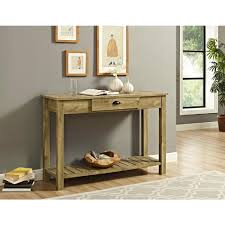 walker edison furniture company 48 in country style entry console