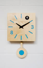 Cuckoo Clock Kit Modern Cuckoo Clock With Moving Bird Blue Quadri