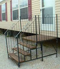 steps and decks mobile home advantage