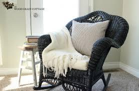 spray painting wicker rocking chair wicker patio furniture