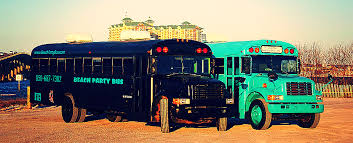 party bus prom beach party bus