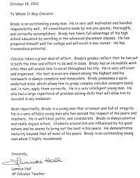 Sample Recommendation Letter Teacher Sample Mba Recommendation Letters Cover Letter Example