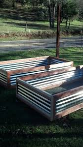Corrugated Metal Garden Beds Corrugated Iron Raised Garden Beds Uk Corrugated Raised Garden