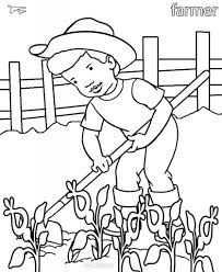 printable community helper coloring pages for kids throughout page