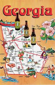 Atlanta Area Map Green Man Brewery Adds Georgia To Distribution Map Brewbound Com