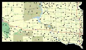 map south dakota highways maps south dakota road maps routes directions