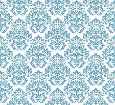 abstract ornamental pattern damask wallpaper vector image 37367