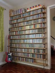 Dvd Shelves Woodworking Plans by Best 25 Cd Storage Rack Ideas On Pinterest Dvd Storage Rack Cd