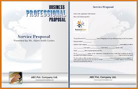 service proposal template service proposal png scope of work