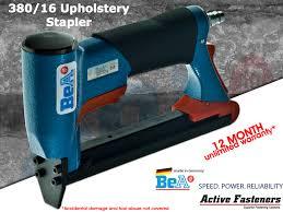Electric Upholstery Staple Gun Bea 80 16 Upholstery Stapler Active Fasteners Superior