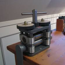jewelry rolling mill on print with a rolling mill the woven tale press