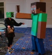 Minecraft Halloween Costumes Minecraft Costume Tami Morin Show Joe Jaime U0027s 11th Bday