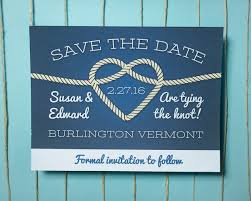 nautical save the date shape nautical save the date cards brown rope outstanding