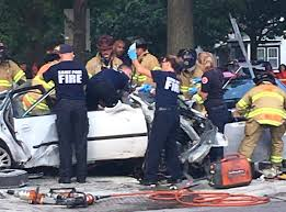 car smashes through metro transit bus in st paul 1 dead