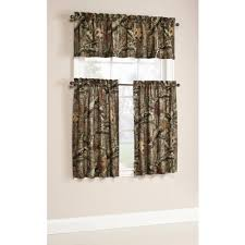 Discount Curtains And Valances Mossy Oak Break Up Infinity Camouflage Print Window Kitchen