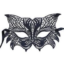black lace masquerade masks nati women s lace fox masquerade mask color black new ebay