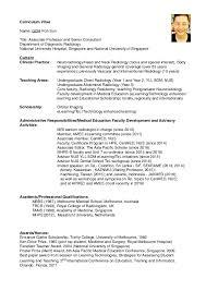 best curriculum vitae pdf dr goh poh sun short cv pdf