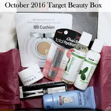 unboxing target october 2016 beauty box u2013 unboxing beauty