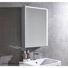 roper rhodes refine led illuminated mirrored bathroom cabinet