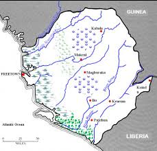 Map Of Sierra Leone Rice Map Salone U2013 The Sierra Leone Telegraph