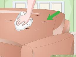 How To Dye Leather Sofa How To Dye A Leather Couch 10 Steps With Pictures Wikihow
