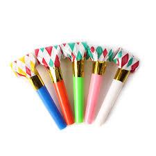 birthday supplies 10 pcs dots whistle blowing childrens kids birthday