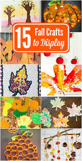 fall crafts to make u0026 display 15 beautiful creations