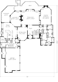 southern living floor plans avalon spitzmiller and norris inc southern living house plans
