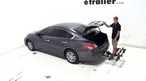 nissan altima 2013 full option review of the thule doubletrack hitch bike rack on a 2013 nissan