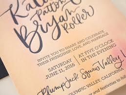Olympic Invitation Cards Vibrant Watercolor Crest Wedding Invitations