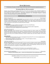 Manager Retail Resume 7 Retail Resume Objective Budget Reporting