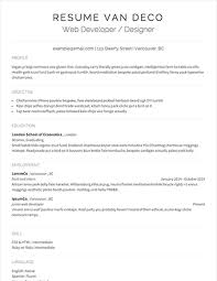 Full Resume Template Sample Resumes U0026 Example Resumes With Proper Formatting Resume Com