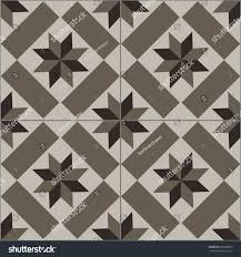 patterned floor wall tiles modern decor stock vector 569298052