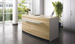reception desk ideas desk reclaimed wood riverstone reception