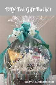 discount gift baskets diy tea gift basket teas dollar stores and gift
