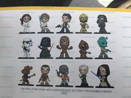 first look at star wars 40th anniversary mystery minis